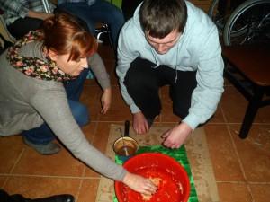Lanie wosku na Andrzejkach