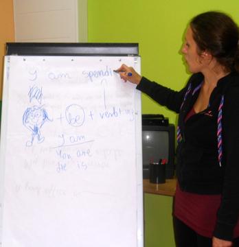 Zajęcia z angielskiego